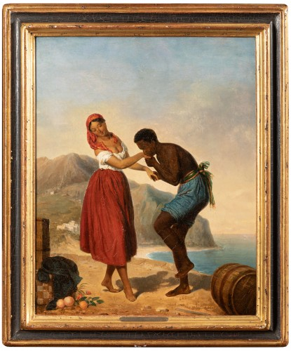 Le Baisemain - Julien Vallou de Villeneuve (1795-1866)