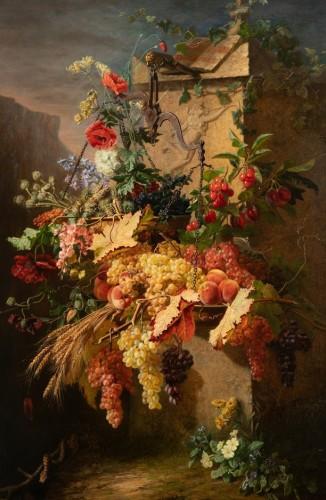 Jean-Pierre Laÿs (1827-1887) - Le Bien et le Mal - Paintings & Drawings Style