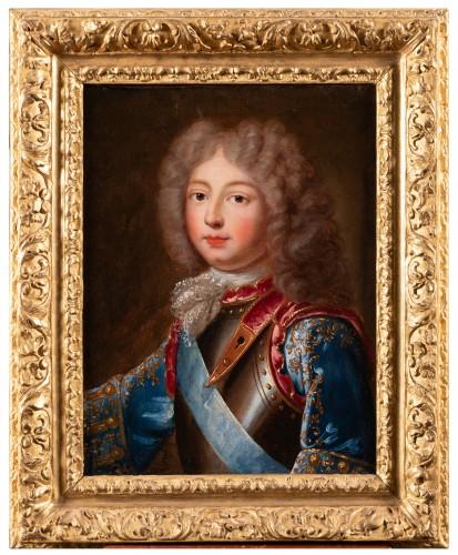 Portrait of the Duke of Berry  French school around 1700