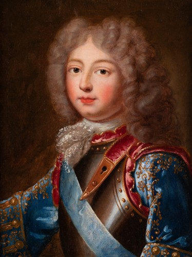 Portrait of the Duke of Berry  French school around 1700 - Paintings & Drawings Style