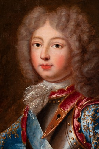 Paintings & Drawings  - Portrait of the Duke of Berry  French school around 1700