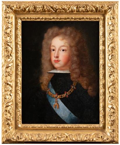 Portrait of Philip V of Spain - French school around 1700