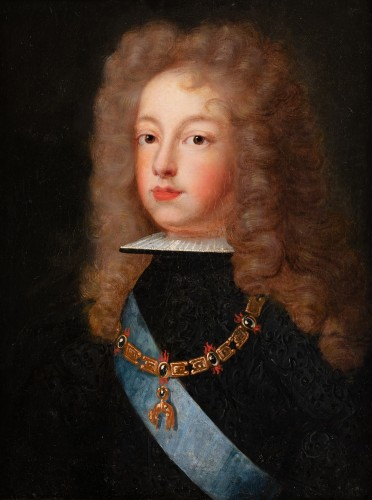 Portrait of Philip V of Spain - French school around 1700 - Paintings & Drawings Style