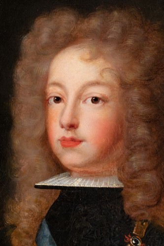 Paintings & Drawings  - Portrait of Philip V of Spain - French school around 1700