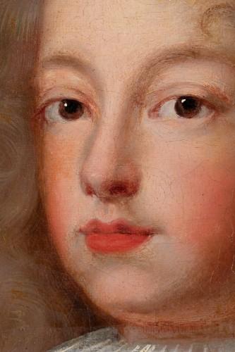 Portrait of Philip V of Spain - French school around 1700 -
