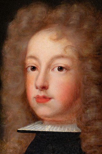 - Portrait of Philip V of Spain - French school around 1700