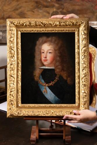 Antiquités - Portrait of Philip V of Spain - French school around 1700