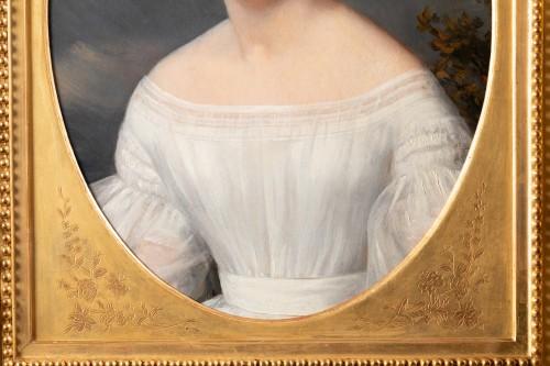 Louise Pauline Julie Volpeliere (1783- 1842)  - Presumed portrait of Aglaé Françoise Lebe Gigun -