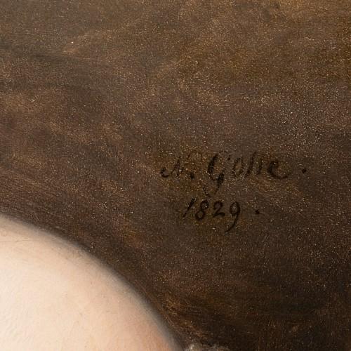 - Portrait of Aglaé Françoise Lebe Gigun - Nicolas Gosse  (1787- 1878)