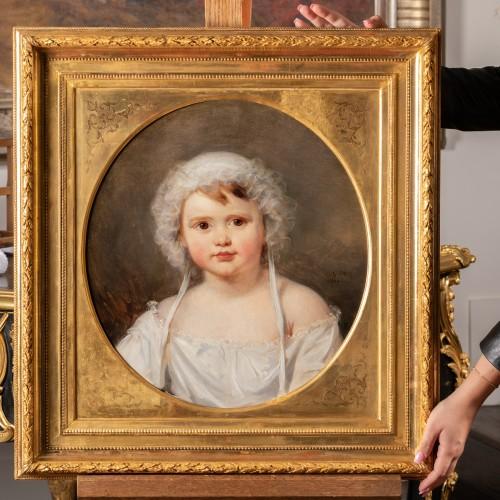 Antiquités - Portrait of Aglaé Françoise Lebe Gigun - Nicolas Gosse  (1787- 1878)