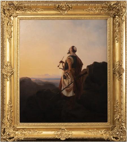 Oriental warrior - Niels Simonsen (1807-1885)