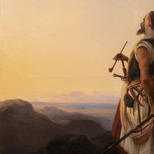 Oriental warrior - Niels Simonsen (1807-1885) - Paintings & Drawings Style