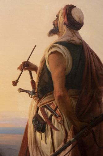 Oriental warrior - Niels Simonsen (1807-1885) -
