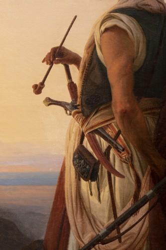 19th century - Oriental warrior - Niels Simonsen (1807-1885)