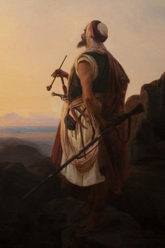 - Oriental warrior - Niels Simonsen (1807-1885)