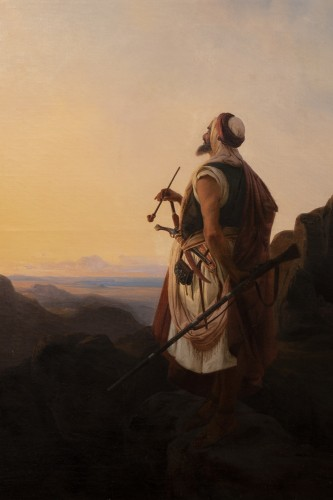Antiquités - Oriental warrior - Niels Simonsen (1807-1885)