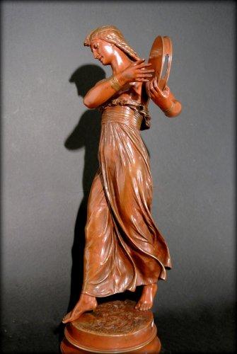 """19th century - """"egyptian dancer"""" by arthur bourgeois"""