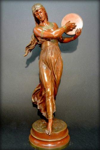 """Antiquités - """"egyptian dancer"""" by arthur bourgeois"""