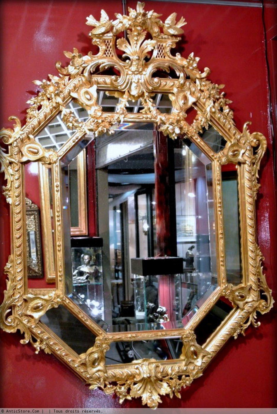 Miroir napol on iii r serves xixe si cle for Miroir napoleon