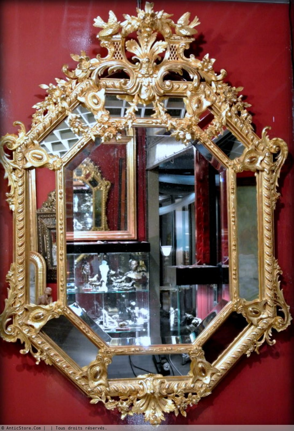 Miroir napol on iii r serves xixe si cle for Miroir napoleon iii