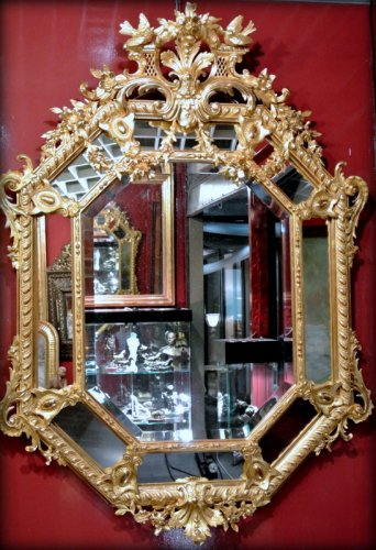 Napoléon III - A Napoléon III gilt mirror