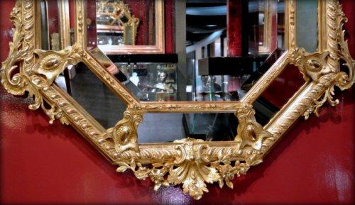 Antiquités - A Napoléon III gilt mirror