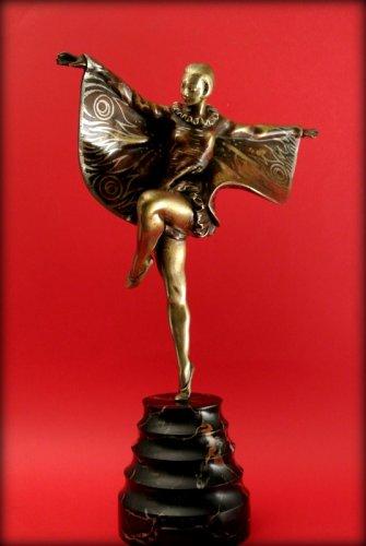 "Dancer ""butterfly"" art deco - Sculpture Style Art Déco"