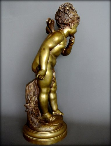 "Bronze statue ""Undecided Love"" by  Paul Duboy -"