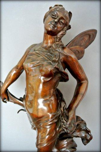 """Sculpture  - """"ondine"""" by adrien gaudez"""