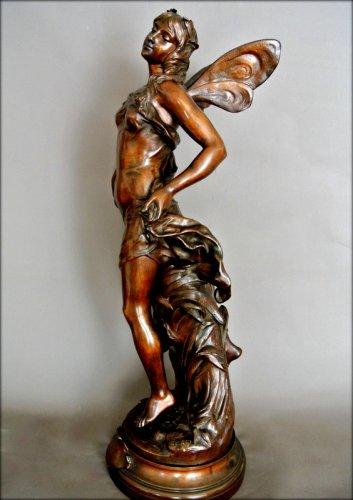"""Art nouveau - """"ondine"""" by adrien gaudez"""