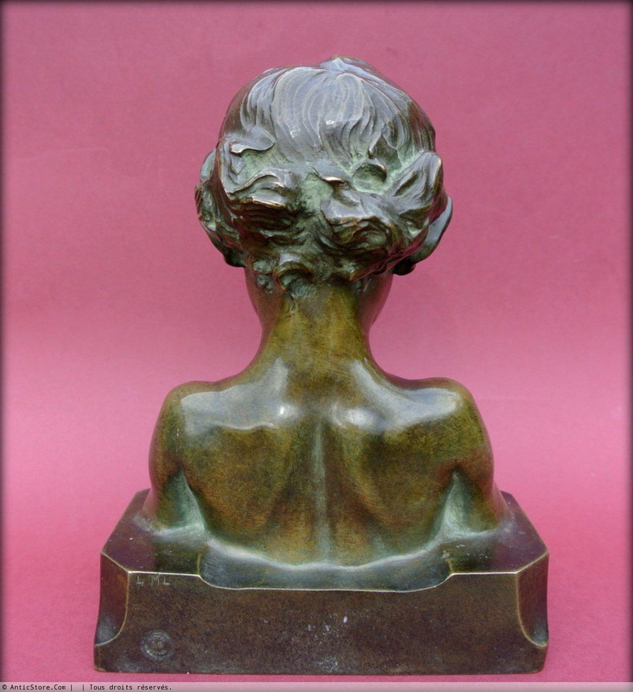Statue Signed J Camus Ref 33204