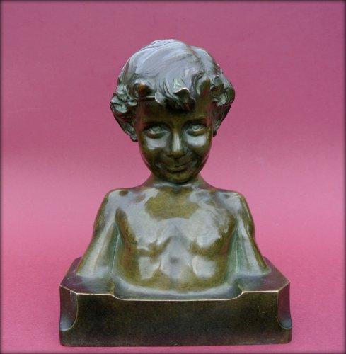 Statue signed j. camus - Sculpture Style Art Déco