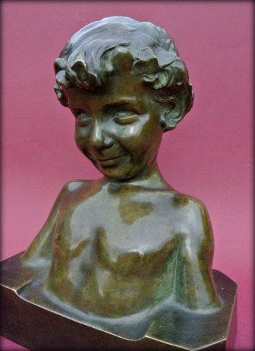 Art Déco - Statue signed j. camus