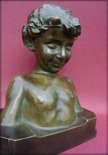 Antiquités - Statue signed j. camus