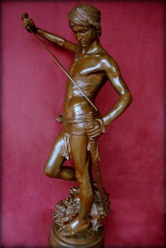 David winner - Antonin Mercié (1854-1916) -