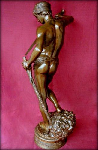 - David winner - Antonin Mercié (1854-1916)