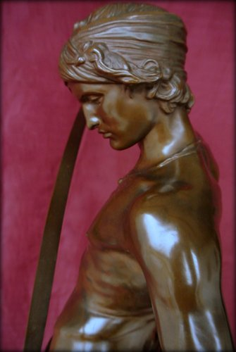Antiquités - David winner - Antonin Mercié (1854-1916)