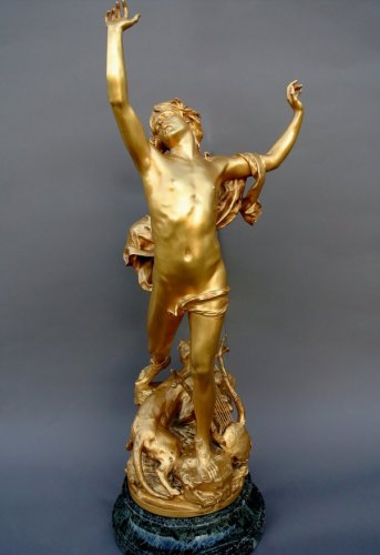 """""""the pain of orpheus"""" bronze by Raoul Verlet"""