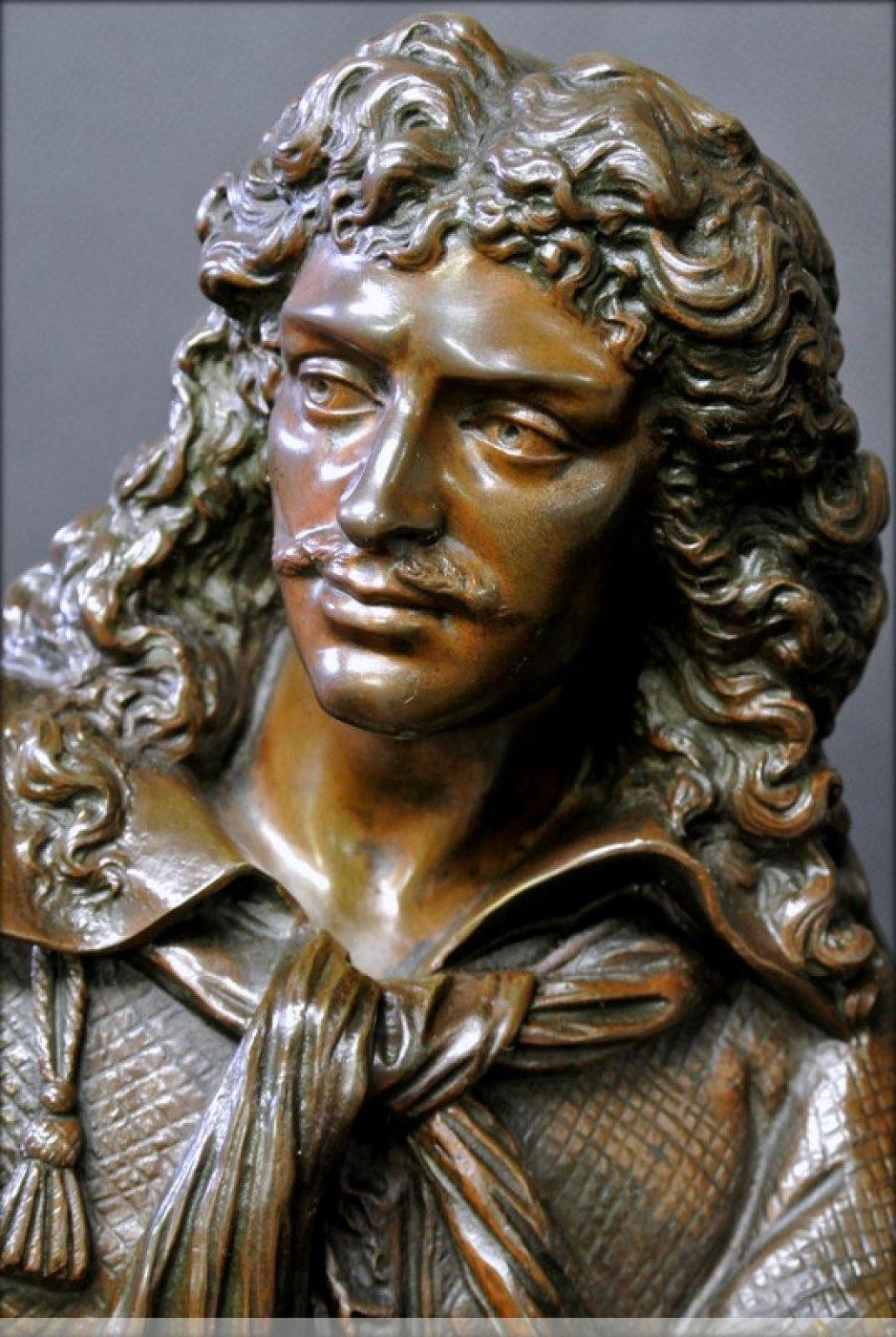 Bronze Moliere Statue Ref 42159