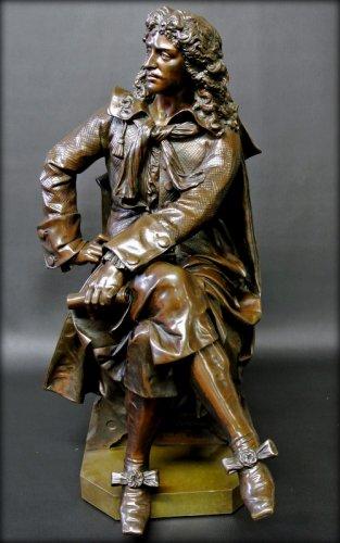 Bronze moliere statue - Sculpture Style