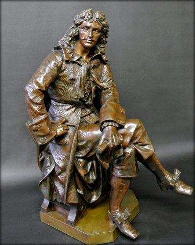 Sculpture  - Bronze moliere statue