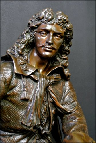 - Bronze moliere statue