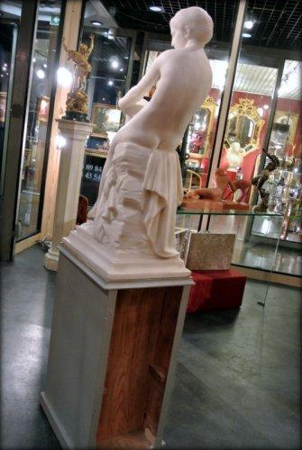 "Napoléon III - ""Chloé"" marble sculpture signed  A VASSELOT"