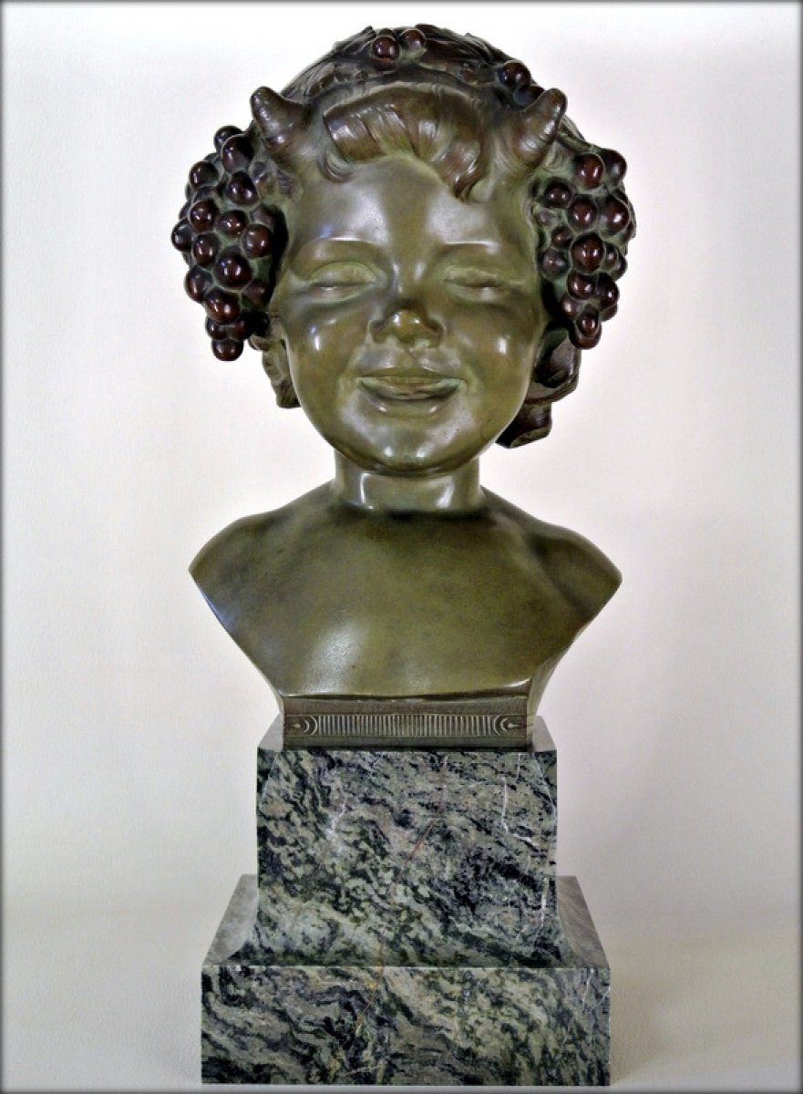 Young Bacchus Smiling Ref 45283