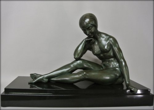 Sculpture  - Morante signed bronze statue