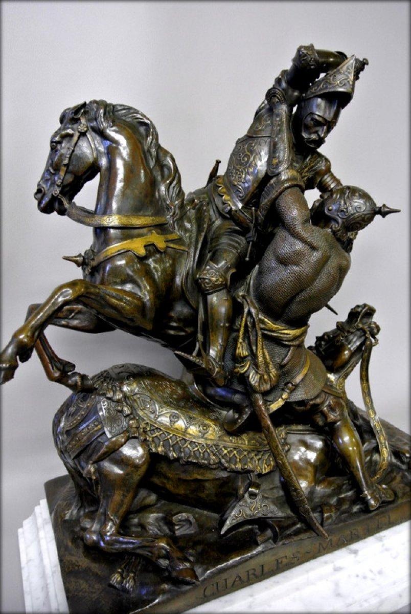 Quot Charles Martel Quot Signed T Gechter Ref 46469