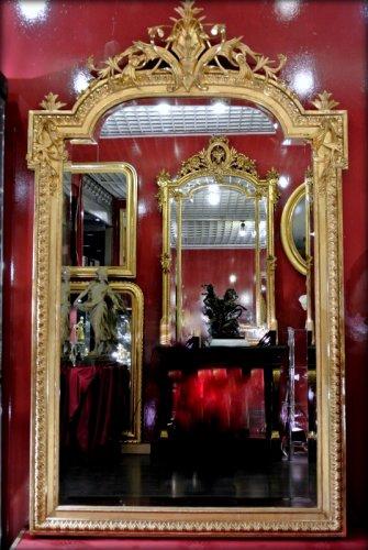 Antiquités - Napoléon III mirror