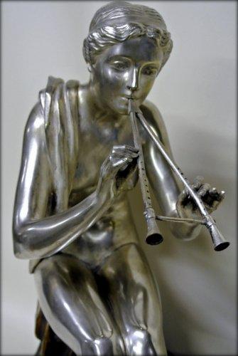 Muse bronze signed OBIOLS - Art Déco