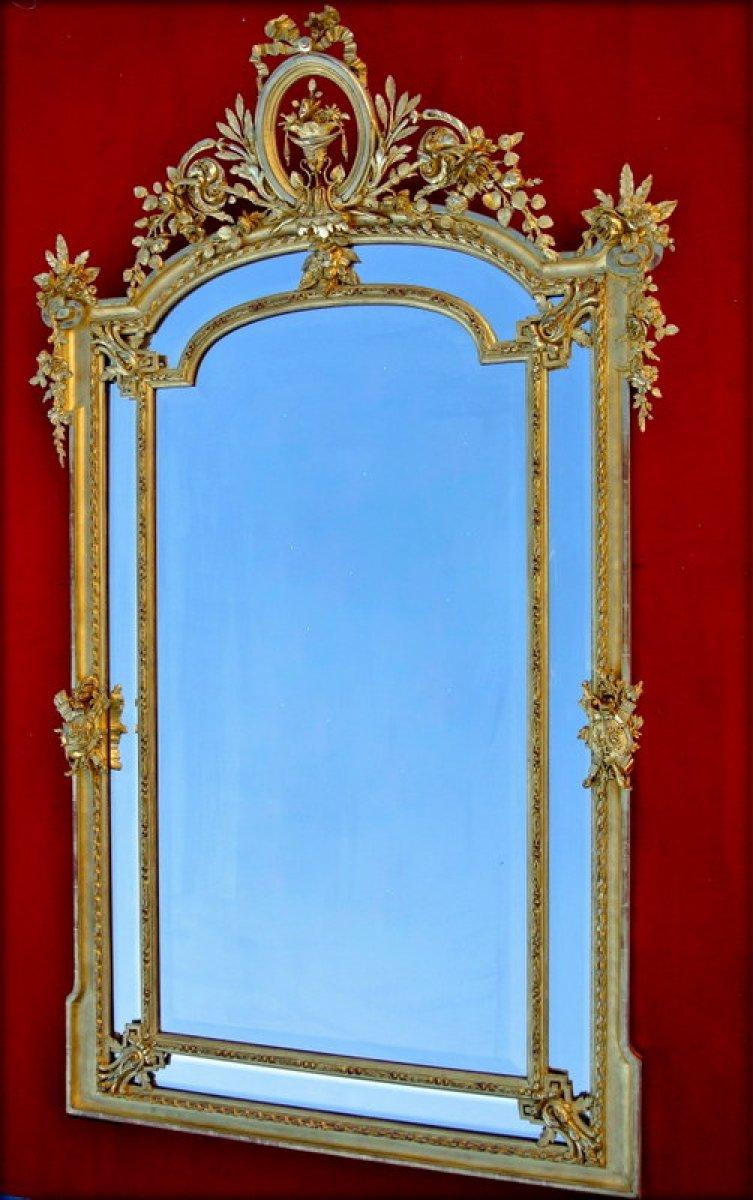 Miroir r serves d 39 poque xixe for On traverse un miroir