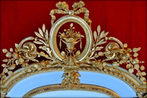 Antiquités - 19th century mirror